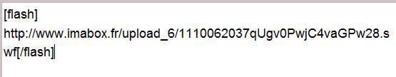 Tutorial heberger un fichier swf (  anim flash ) 242558Capture12