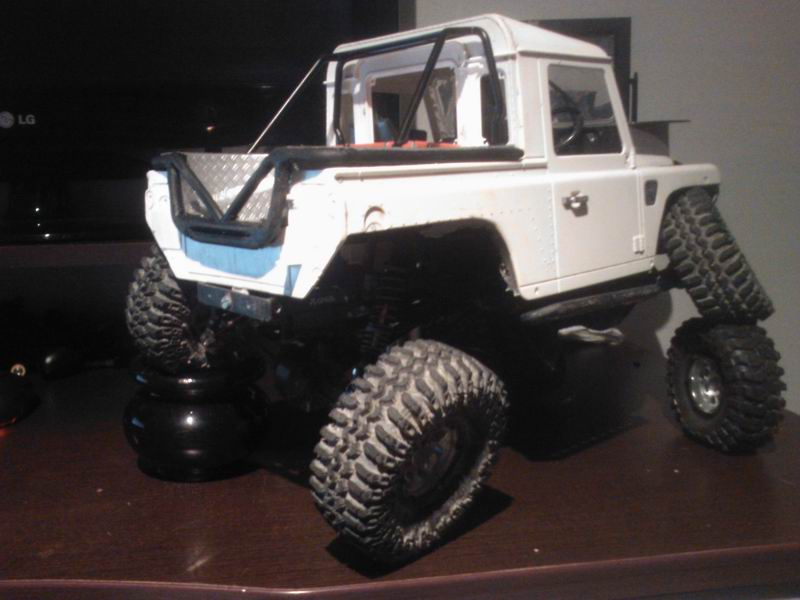 [ SCX10 Axial ]  Jeep'eu rien turn away ! Short chassis and Timber Style ! - Page 3 247513ResizeofWP001139