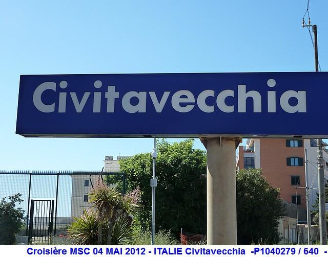 MSC Splendida Du 28 avril au 5 mai 2012 Gêne Barcelone Tunis La valette Taormine Messine Rome 247523P1040279