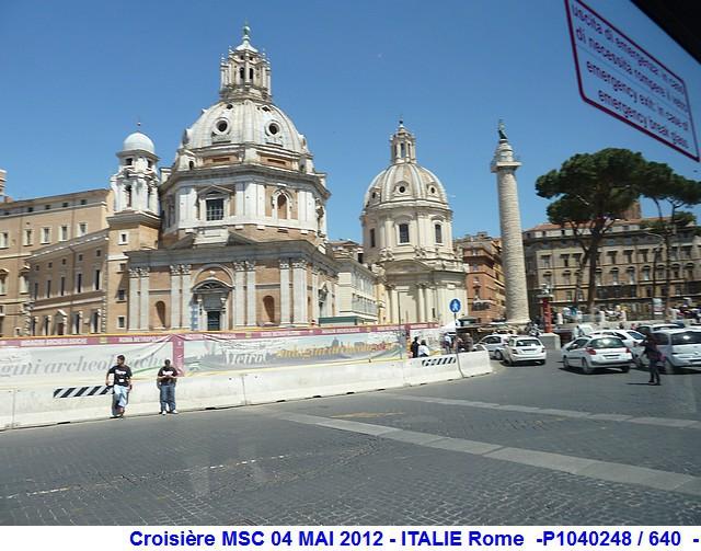 MSC Splendida Du 28 avril au 5 mai 2012 Gêne Barcelone Tunis La valette Taormine Messine Rome 249992P1040248