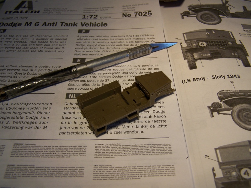 Dodge M6 anti tank Tunisie 1943 (montage terminé) 2502731005323