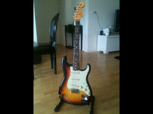 Fender Custom Shop Stratocaster 60' relic 251807Stratgnral