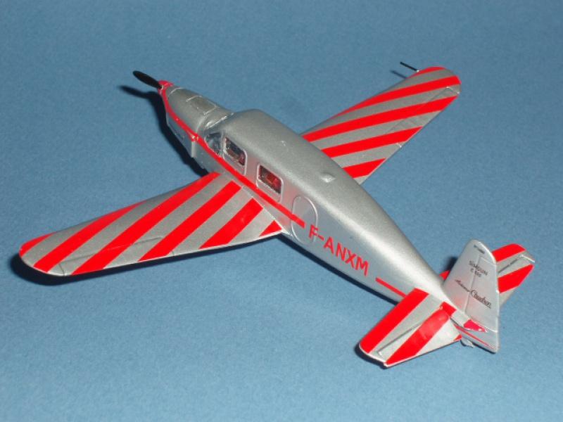 CAUDRON C-635 Simoun  (version Raid Paris-Tokyo). 1937  Heller 1/72. 252113caudronraid018