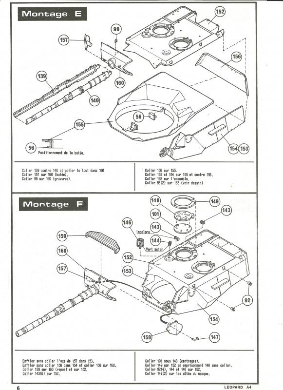 Char LEOPARD A4 - (Réf. 823) 1/35 253226HellerLopardA4823006