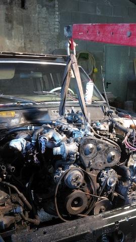 Swap moteur 2.1d -> 2.1 TD suite problème pivot embrayage 253926IMG20150531140604