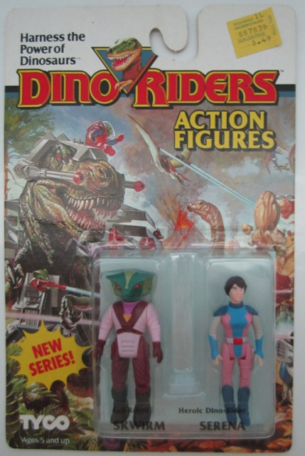 Les jouets DINO-RIDERS ( dinoriders ) - IDEAL 256225011