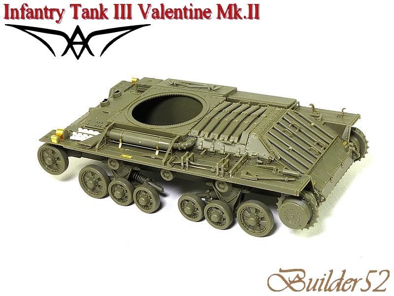 Infantry Tank III Valentine Mk.II - AFV CLUB 1/35 256683P1050397