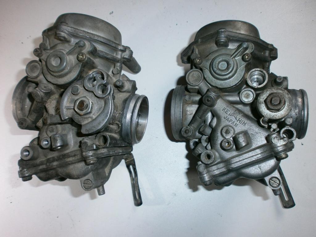 Nettoyage carburateurs de transalp 600 256834P1310002