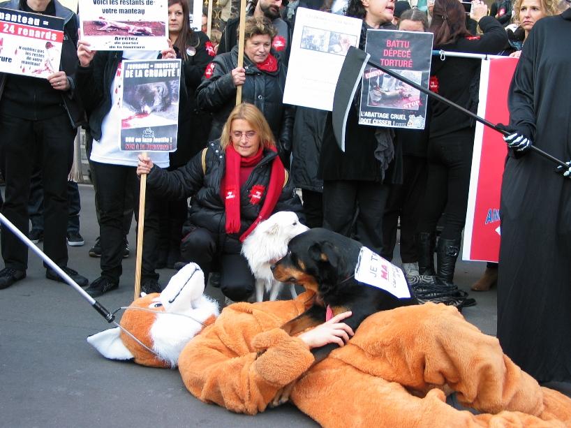 07 - Marche contre la fourrure - Paris 19 novembre 2011. 256953IMG6637