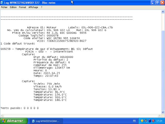 Voyant préchauffage clignote sans perte de puissance 257415VirtualBoxWindowsxp03012017172903