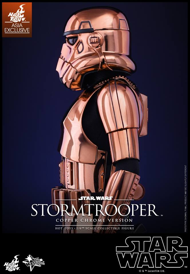 HOT TOYS - Star Wars: TFA - Stormtrooper Copper Chrome 259027112
