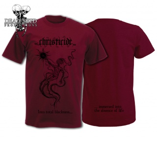 CHRISTICIDE & INKISITOR T-shirts out now! 259323tshirtchristicidewebwhite