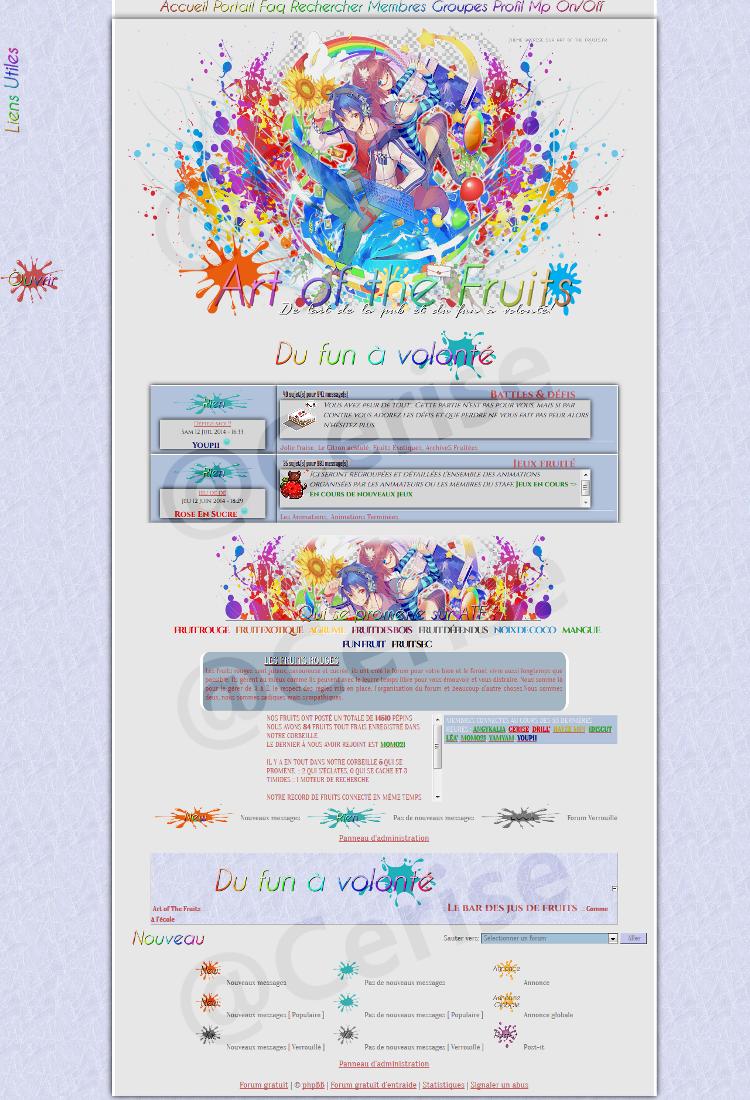 Les thèmes de Art of the fruits. 259615appercu