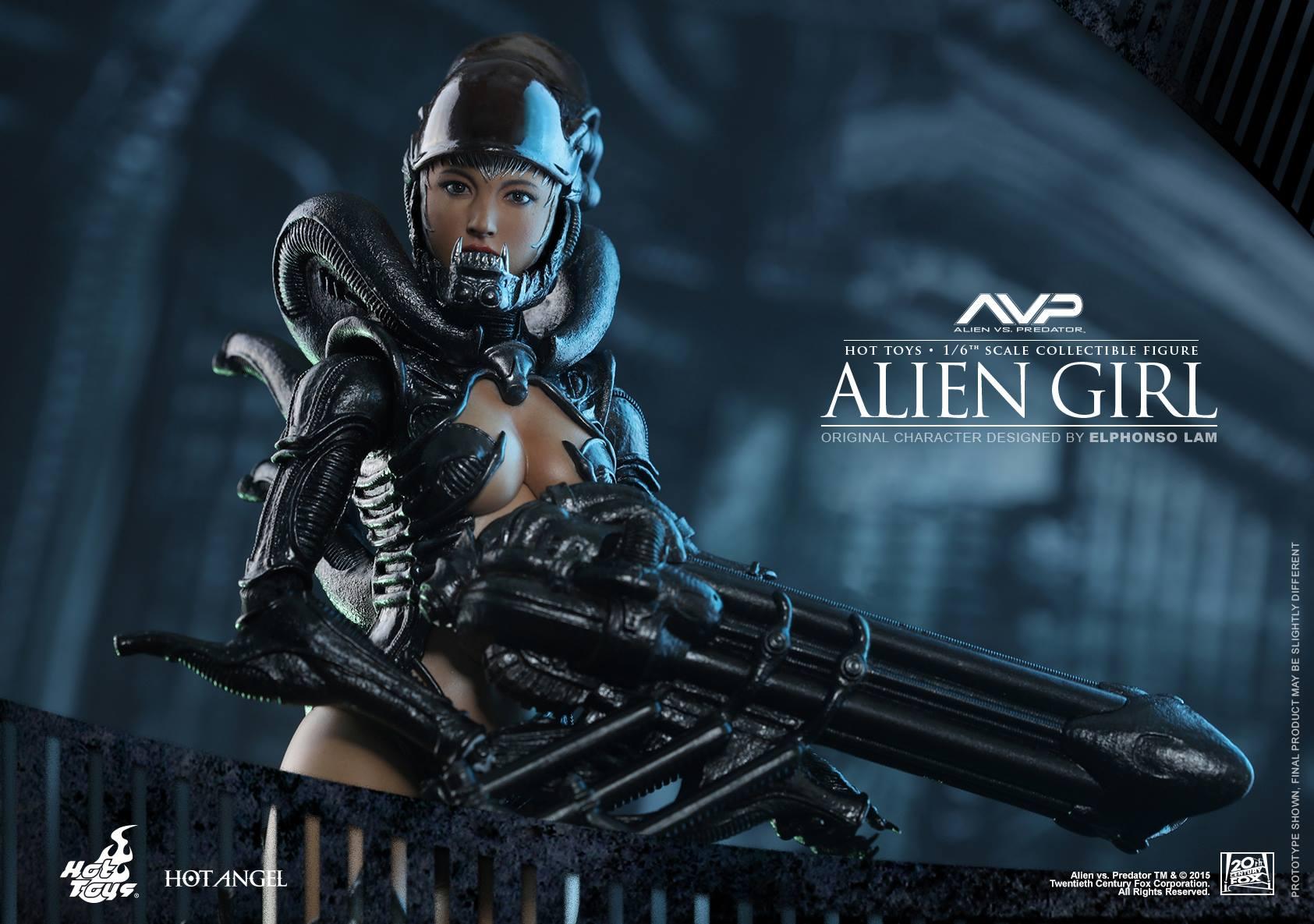 HOT TOYS - AVP - Alien Girl 260408115