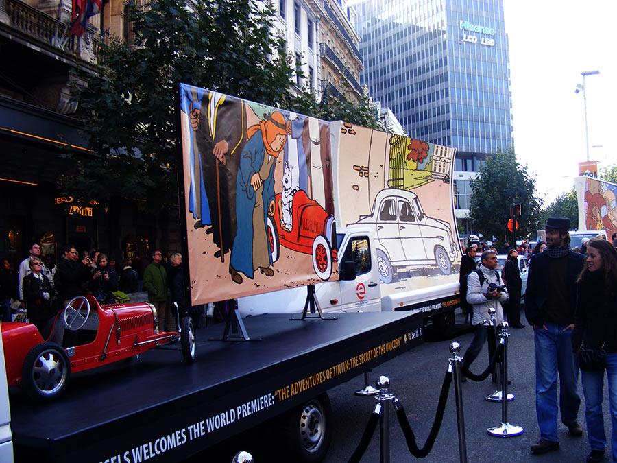 """Bruxelles côté BD  """"Tintin en automobile"""" - Page 2 260491DSCF6259"""