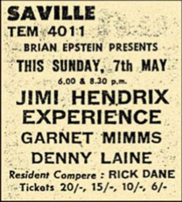 Londres (Saville Theatre) : 7 mai 1967 [Premier concert] 2609970705ad328