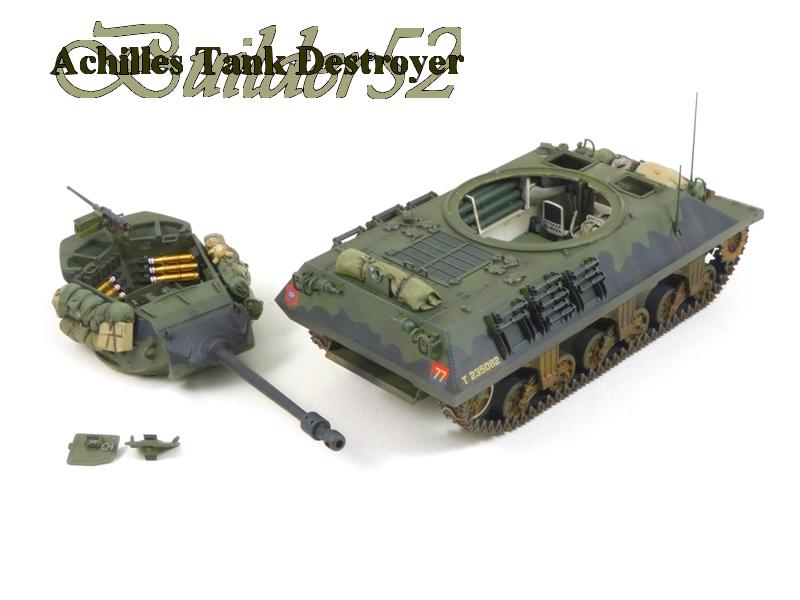 Achilles Tank Destroyer - Academy-Italeri + RB Model + set Blast 1/35 261320P1040524