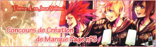 """Mangas Eternels organise sa 4ème édition de la """"Folie des Concours"""", et vous convie a cet événement ! 262084MarquesPages"""