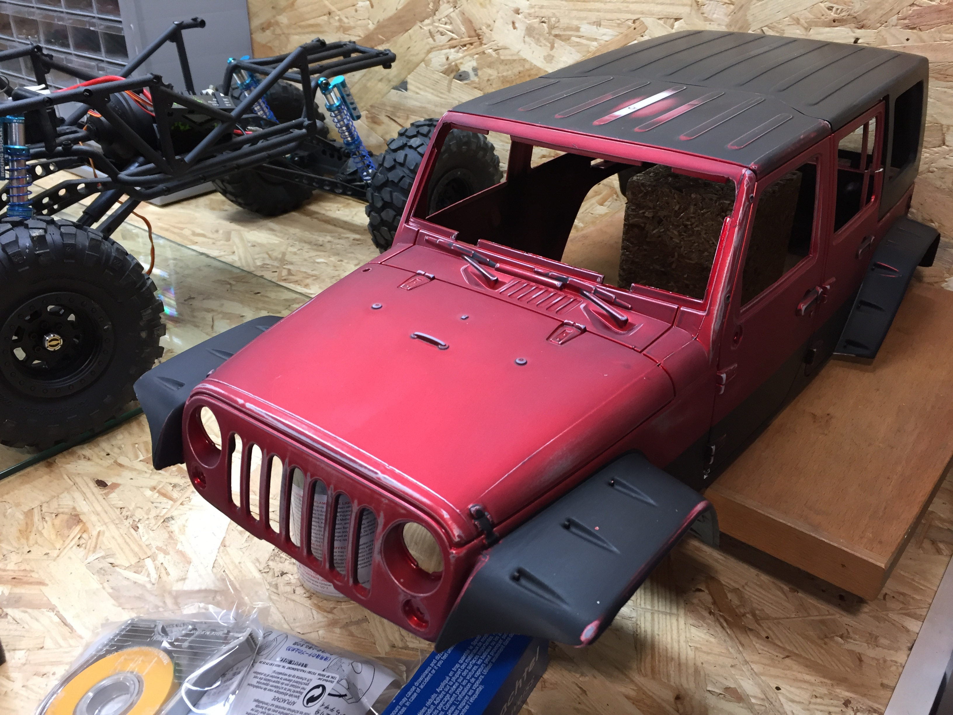 Jeep Rubicon Wraith New Bright 2624529911