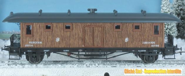 Marklin Coffrets historiques des C.F. suédois voitures en bois 263038Marklin78703voitureIMG3891R
