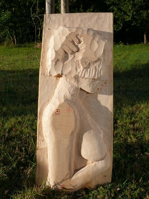 JJ - bas relief d'un nu (2013) 263580058