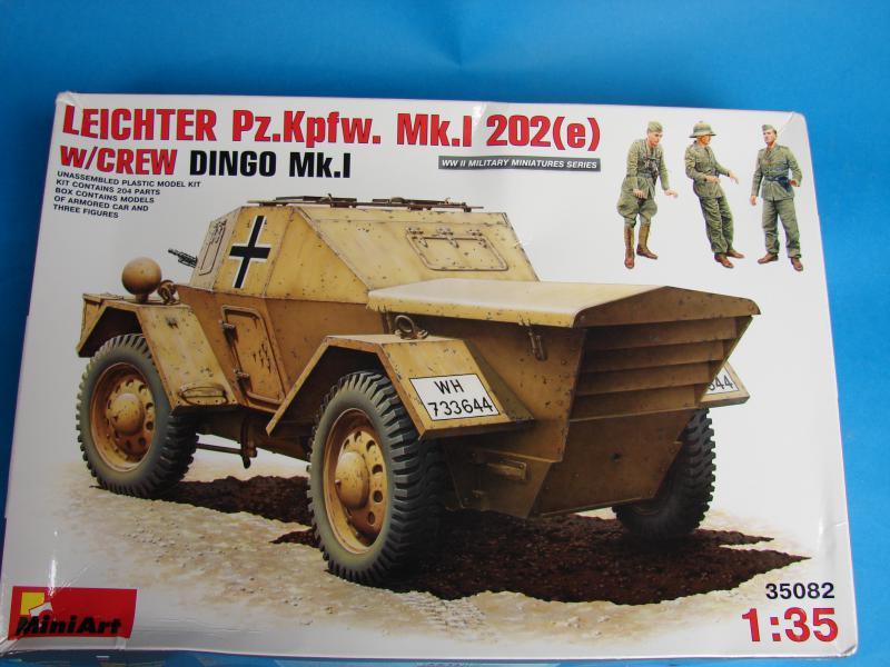 Leichter PZ.KPFW Dingo 1/35 Miniart  264091dingo_008