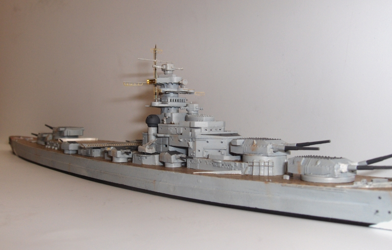 Bismarck 1/700 [Trumpeter] 264871HPIM2004