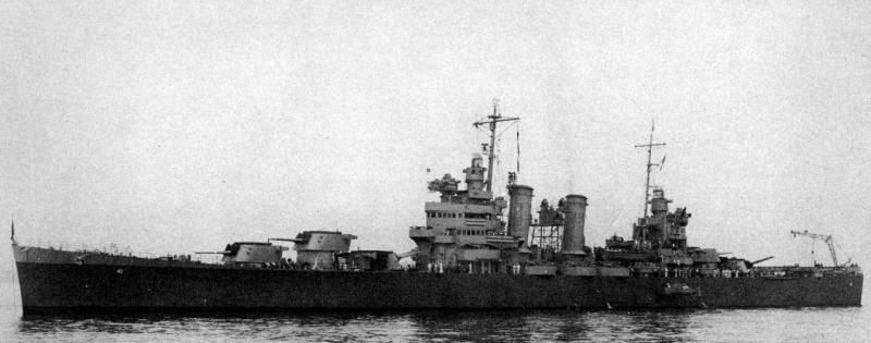 USN CROISEUR LOURD USS WICHITA 264906USSPhiladelphia1942