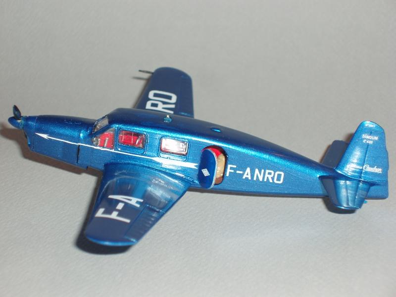 CAUDRON C-635 Simoun  (version Air Bleu). 1936  Heller 1/72. 266294cs29