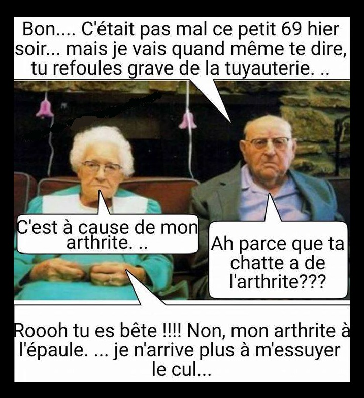 HUMOUR - blagues - Page 2 266593Arthtite