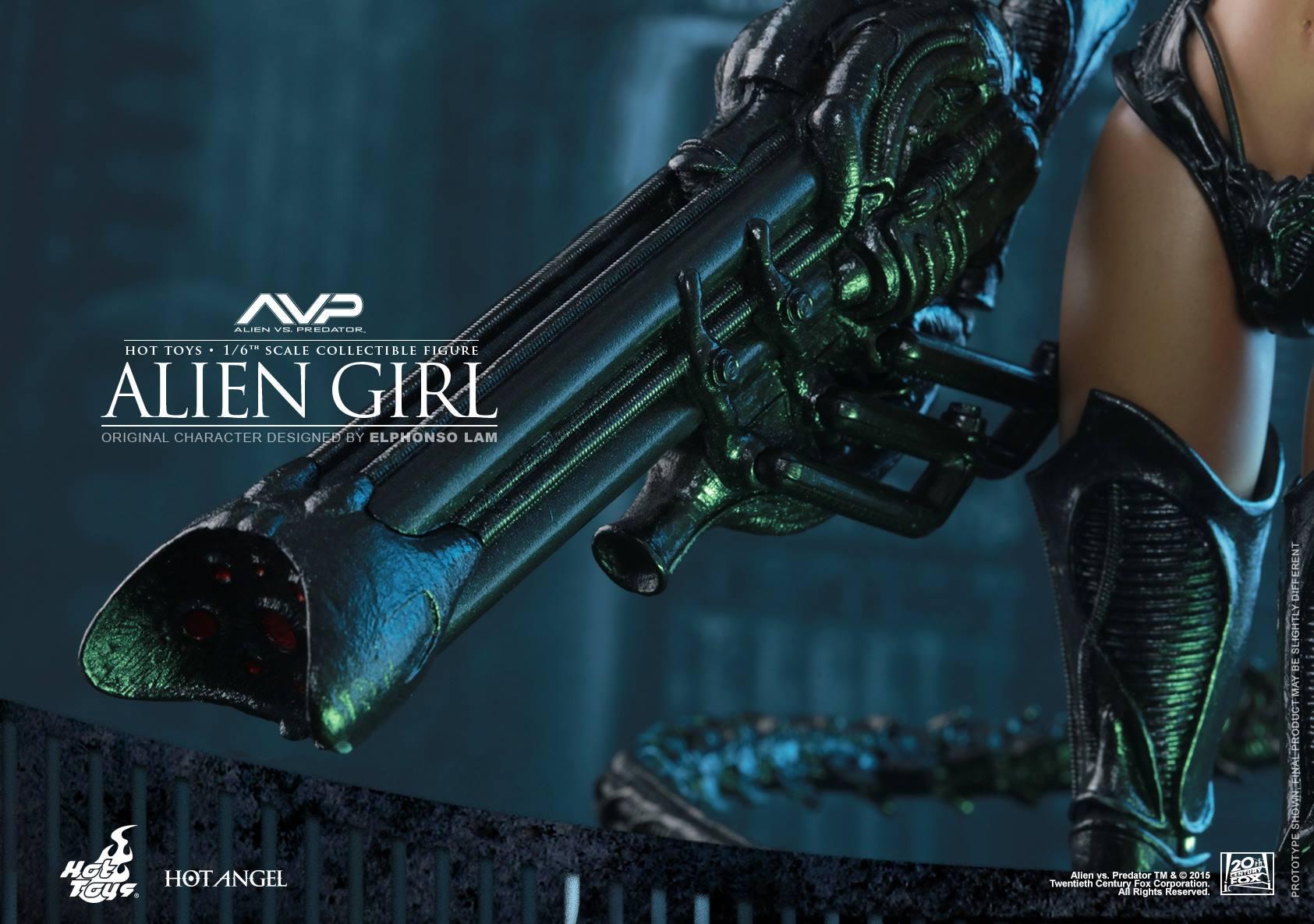 HOT TOYS - AVP - Alien Girl 268999119