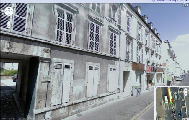 photo Avant / Après : les Gi's descendent la rue du Faubourg Bannier, Orléans 269561ruefaubourgbannieraujourdhui