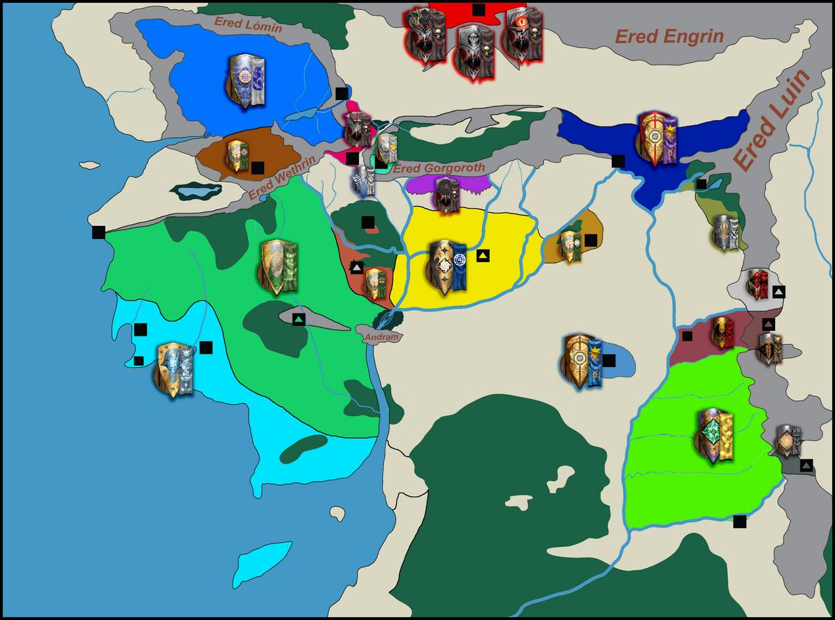Les factions jouables et leurs dirigeants 270574carteavecblasons1200