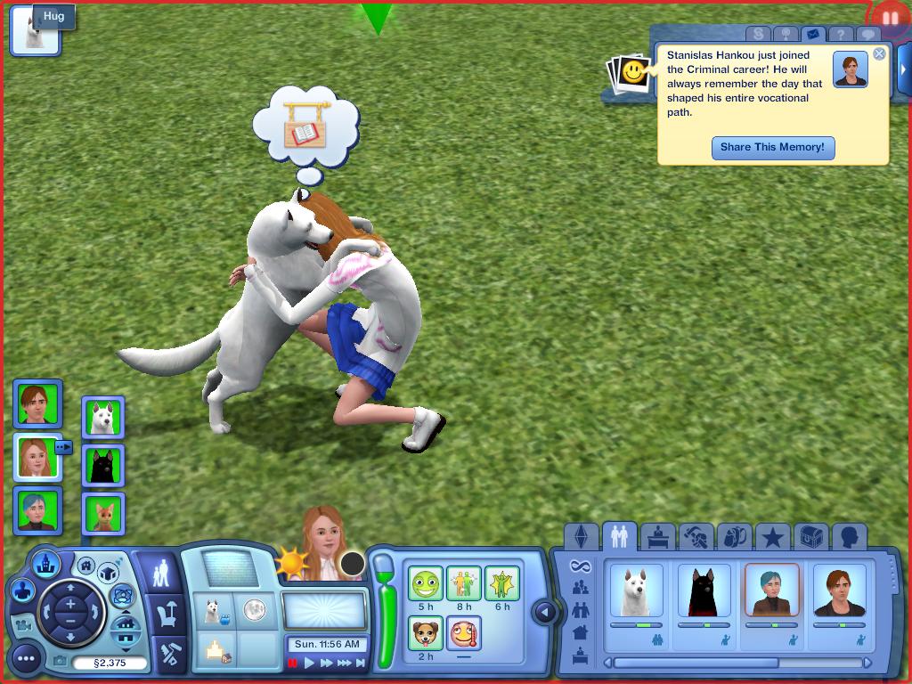 Les Sims ... Avec Kimy ! 270670QuandKimyhuglencelot