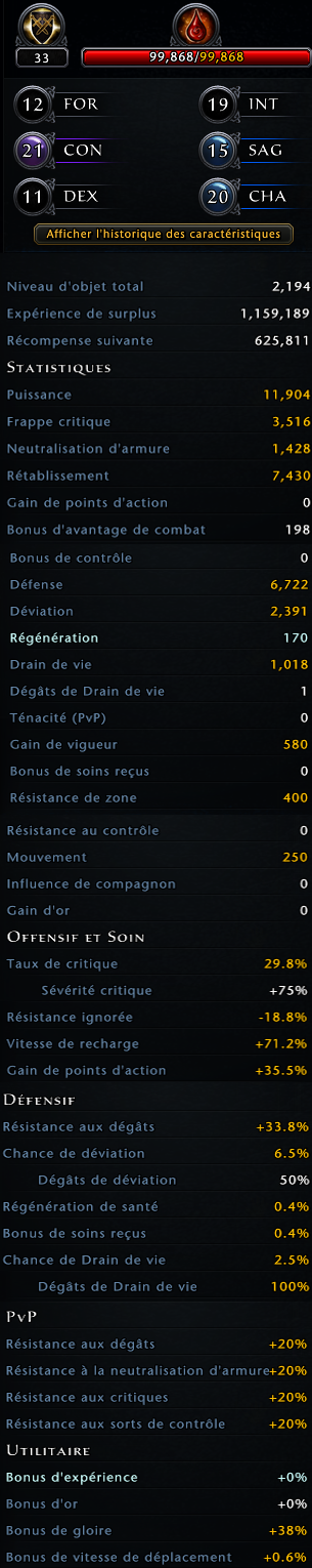 Build paladin protection  271061statistique