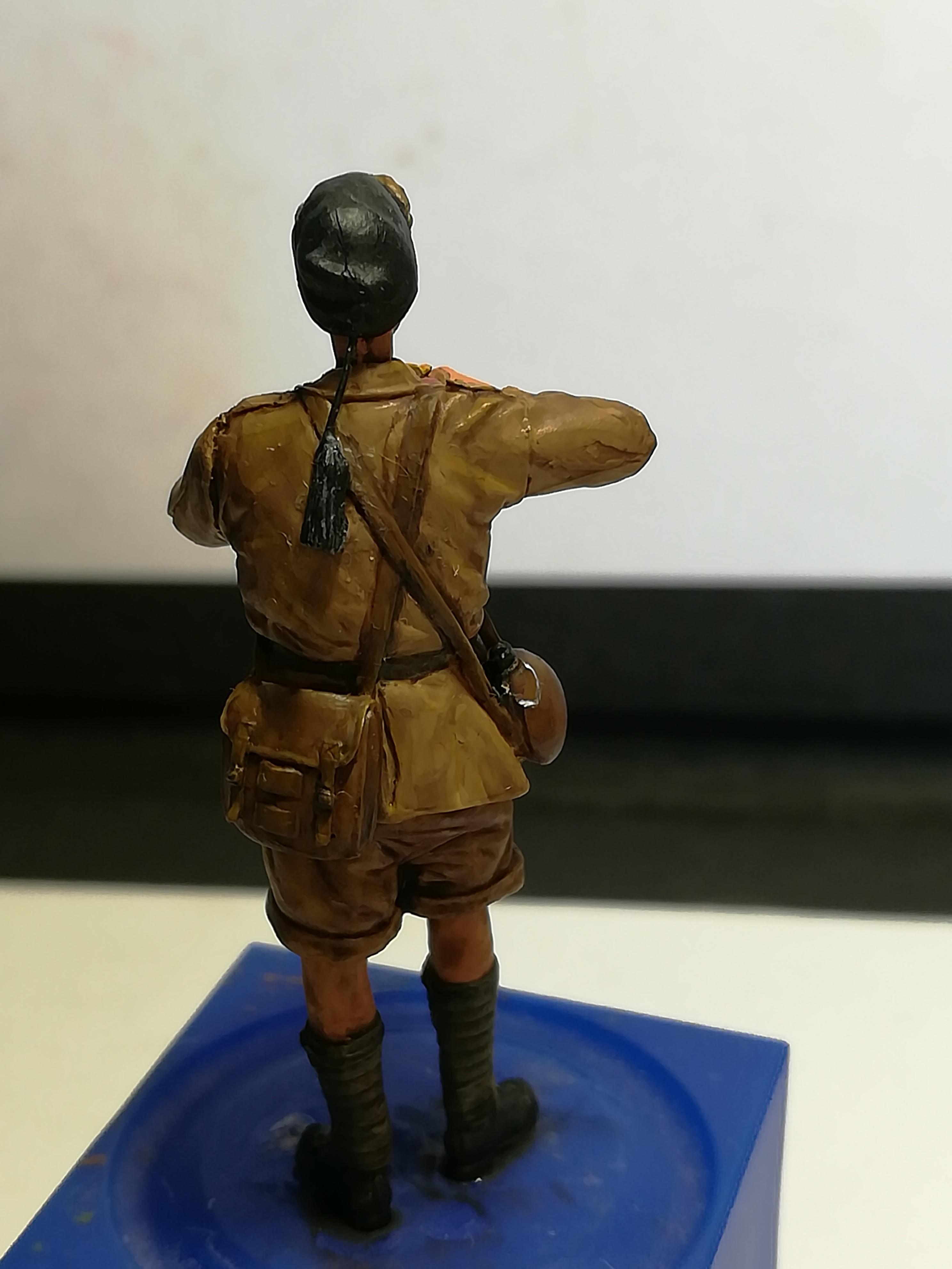 Les frères ennemis, Bir Hakeim, Libye, 1942 - Figurines Steelmasters 1/35 271660IMG20170905140444