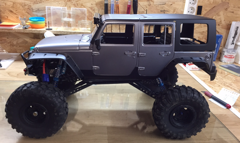 Jeep Rubicon Wraith New Bright 2717846530