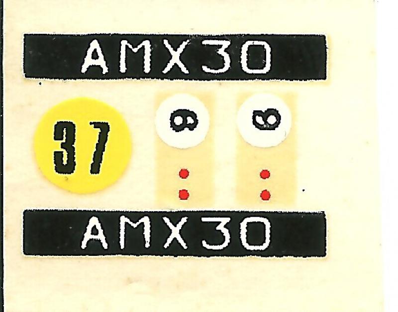 AMX 30 canon de 105 - (Réf. L810) 1/35 273178HellerAMX30105810013