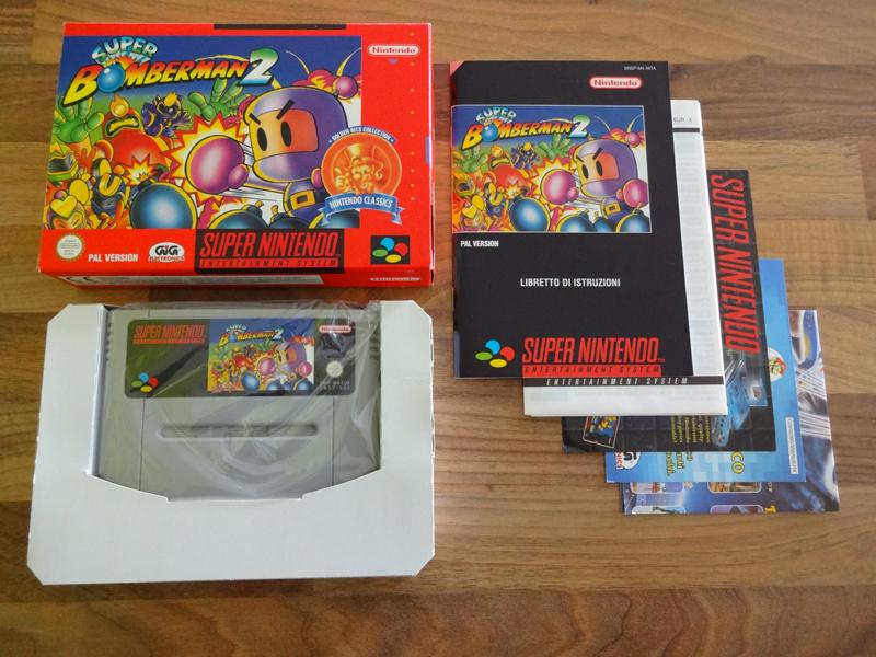 Prupru's Collection ! 100% Super Nintendo et 200% Super Comboy !! - Page 19 274011SuperBomberman2NintendoClassics