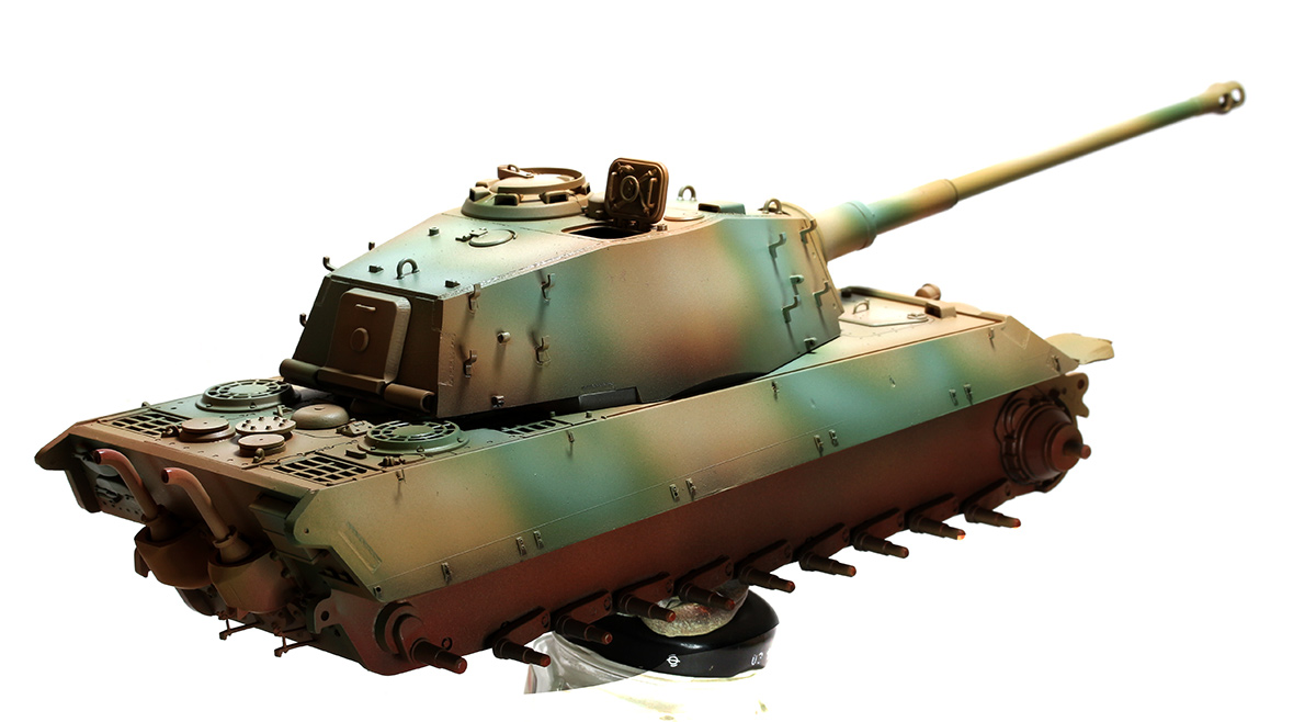 King Tiger  TAMIYA 1/35 275143KTigerwb06