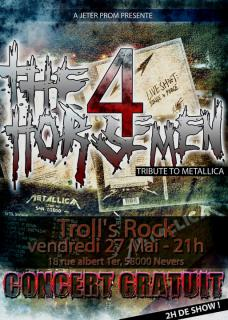 """The 4 Horsemen """"Summer Show"""" Nevers 58 / Croix 59 / Hellfest 2751822310161015017700217993155366493065392664328316n"""