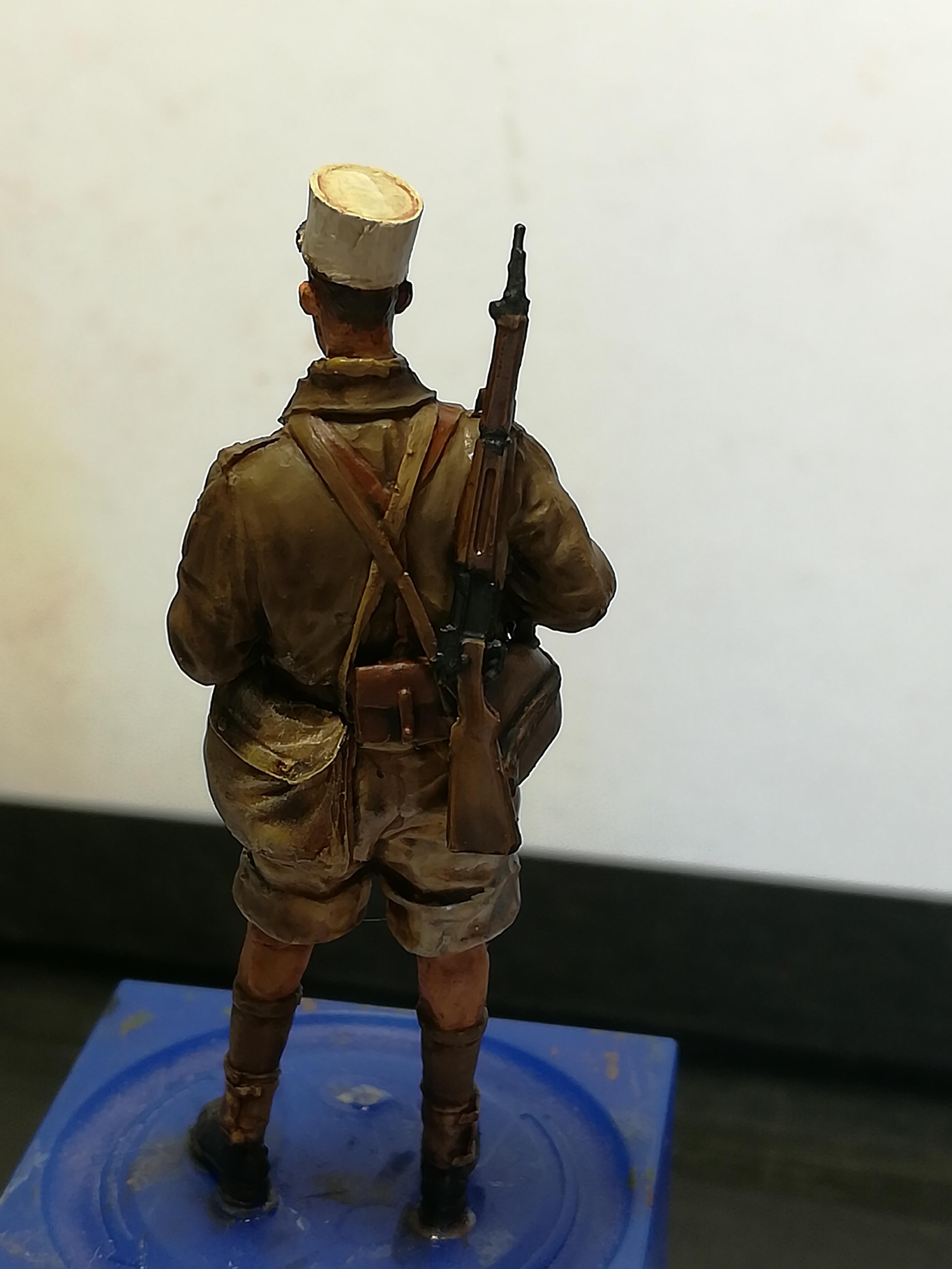 Les frères ennemis, Bir Hakeim, Libye, 1942 - Figurines Steelmasters 1/35 275924IMG20170904172435