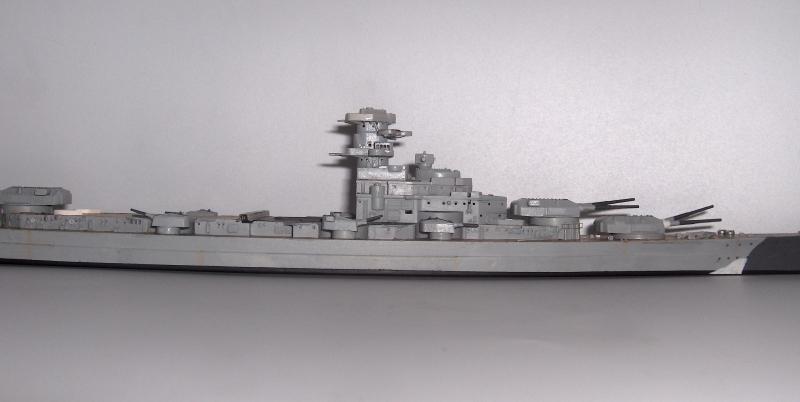 Bismarck 1/700 [Trumpeter] 276480HPIM1994