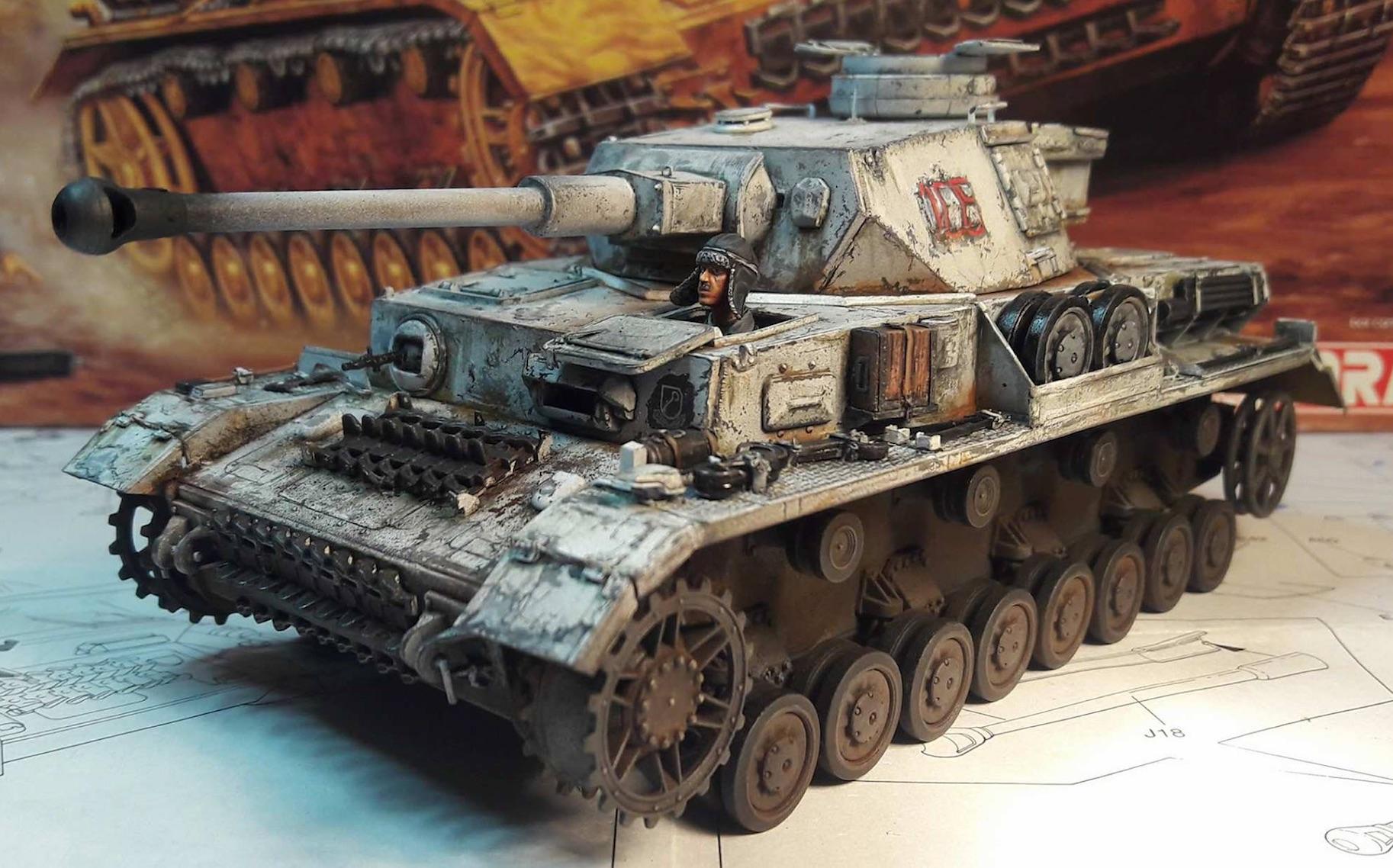 PzKpfw. IV Ausf. F2 - Dragon - Page 3 276604BeforeTracks1