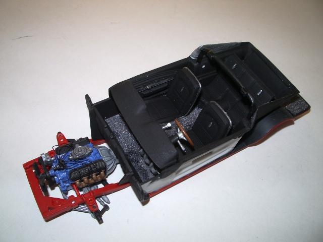 mustang shelby 350 GT 1967  au 1/25 de chez AMT/ERTL  276883IMGP0942