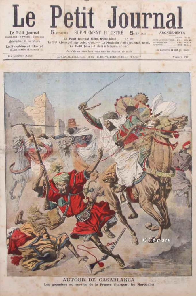 صفحات من تاريخ المغرب الحديث من خلال Le Petit journal illustré 277193pj87815091907