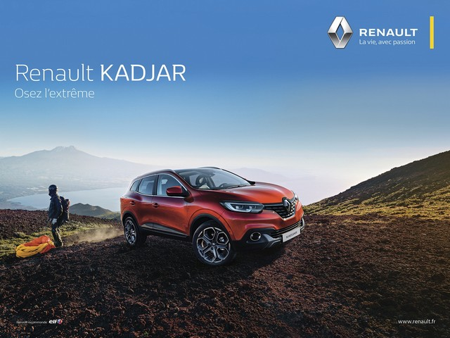 """""""Renault - La vie, avec passion"""" : la nouvelle signature de la marque au Losange 2773436814516"""