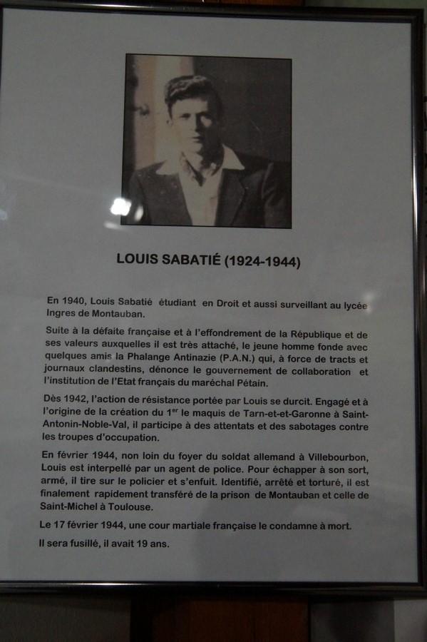 [ Histoire et histoires ] Musée de la résistance et du combattant à Montauban 277670DSC07576