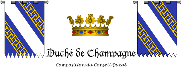 Composition du Conseil Champenois 278437Entte