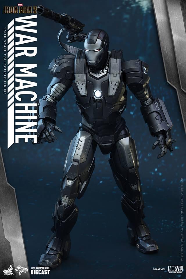 HOT TOYS - Iron Man 2 - War Machine Diecast 279235110